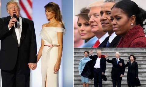 ΗΠΑ: Η νέα εποχή Τραμπ ξεκίνησε - Όλα όσα έγιναν στην τελετή ορκωμοσίας του νέου προέδρου (pics+vid)