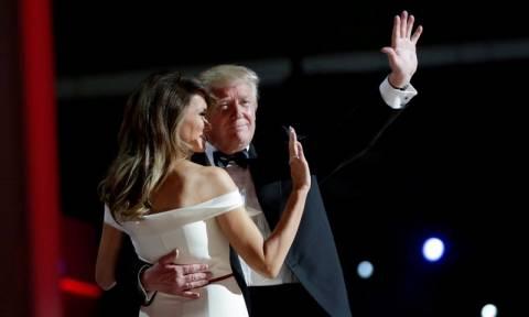 ΗΠΑ: Ο χορός του Τραμπ με την εκθαμβωτική Μελάνια! (vid)
