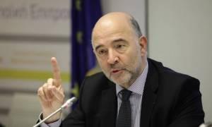 Μοσκοβισί: Αποφασιστικός ο ρόλος του ΔΝΤ στο ελληνικό πρόγραμμα