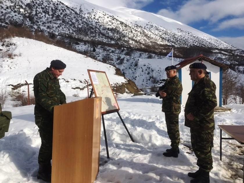 Επίσκεψη Διοικητή 1ης στρατιάς στην Περιοχή Ευθύνης της 8ΗΣ Μ/Π ΤΑΞ (pics)