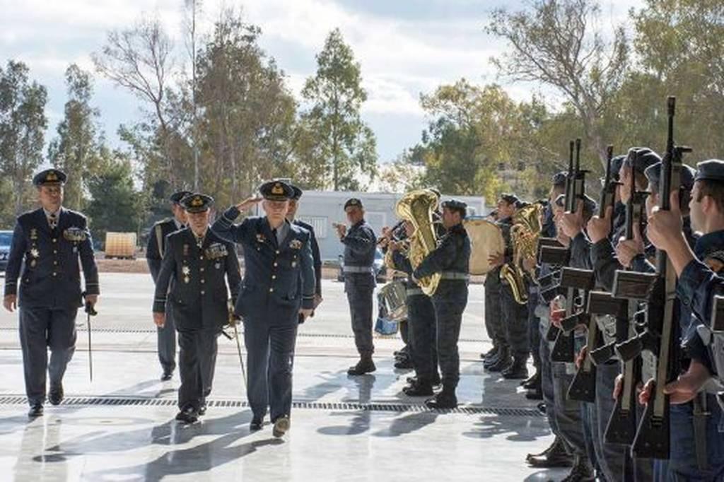 Πολεμική Αεροπορία: Τελετή Παράδοσης- Παραλαβής ΔΑΥ (pics)