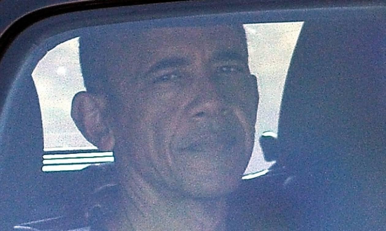 Η πρώτη ημέρα του Μπαράκ Ομπάμα μακριά από τον Λευκό Οίκο