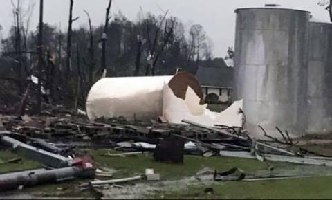 Τραγωδία στις ΗΠΑ: Φονικές καταιγίδες χτυπούν αλύπητα την πολιτεία της Τζόρτζια (vid)
