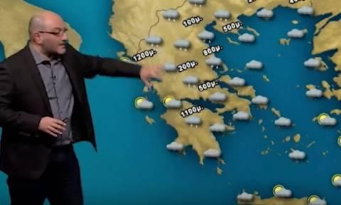 Καιρός: Πού θα χιονίσει την Τρίτη, τι λέει για τον νέο χιονιά της Παρασκευής ο Σάκης Αρναούτογλου;