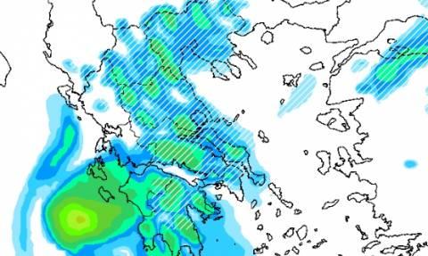 Καιρός: Αυτοί είναι οι χάρτες με τις περιοχές που θα χιονίσει Πέμπτη και Παρασκευή (photos)