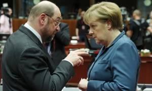 Γερμανία: O Γκάμπριελ θα προτείνει τον Σουλτς για αντίπαλο της Μέρκελ στην καγκελαρία