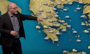 Προειδοποίηση Σάκη Αρναούτογλου: Φυσιολογικό κρύο της εποχής αυτό που έρχεται (photo)