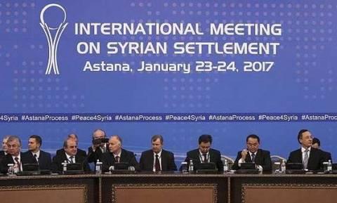 Συρία: Λευκός καπνός από την Αστάνα για τη διασφάλιση της εκεχειρίας (vids)