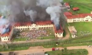 Νέα εξέγερση σε φυλακές της Βραζιλίας: Τουλάχιστον 200 κρατούμενοι απέδρασαν (vid)
