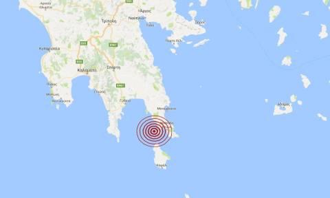 Σεισμός κοντά στη Νεάπολη Βοιών