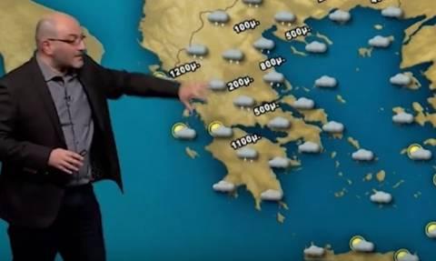 Καιρός: Ο Σάκης Αρναούτογλου ανατρέπει όλα τα δεδομένα για Αθήνα και Θεσσαλονίκη! (vid)