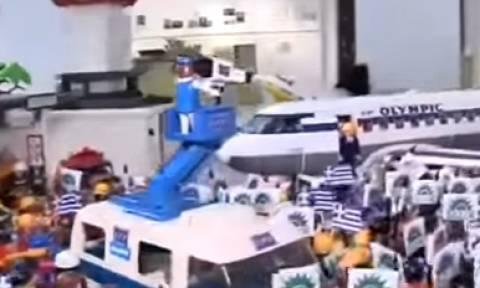 Επιστροφή στο παρελθόν-Playmobil το νεύμα Παπανδρέου στη Λιάνη (photo)