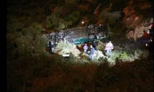 Ισραήλ: Λεωφορείο έπεσε σε γκρεμό 200 μέτρων - Επτά νεκροί (photos)