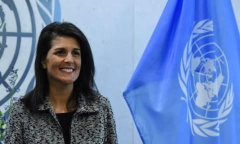 Πρέσβειρα των ΗΠΑ στον ΟΗΕ: Θα δείξουμε τη δύναμή μας