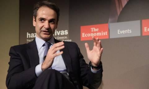 Μητσοτάκης στον Economist: Απαραίτητες οι εκλογές - Μεγάλη η ζημιά στην αξιοπιστία της χώρας