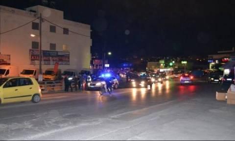 Ηράκλειο: Καραμπόλα τεσσάρων αυτοκινήτων σε σημείο «καρμανιόλα» (pics)