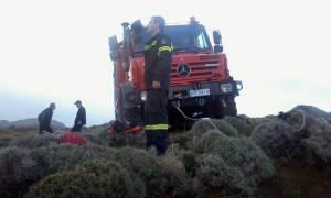 Τραγωδία σε χαράδρα στο Ηράκλειο