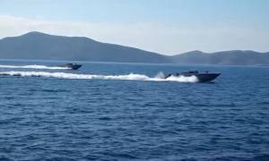 Ίμια: Το απίστευτο βίντεο της ντροπής που δείχνει τους Τούρκους να «αλωνίζουν» (vid)
