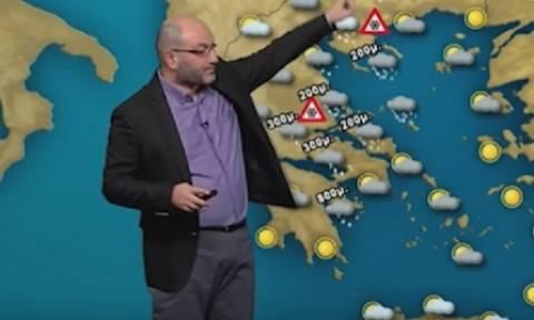 Καιρός - Εκτακτο: Η πρώτη προειδοποίηση του Σάκη Αρναούτογλου για τον ερχομό νέου χιονιά (photo)