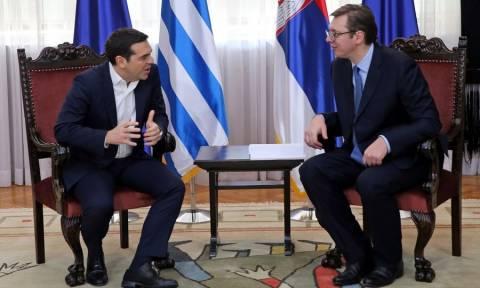 Τσίπρας: Ιδρύεται Ανώτατο Συμβούλιο Συνεργασίας Ελλάδας - Σερβίας