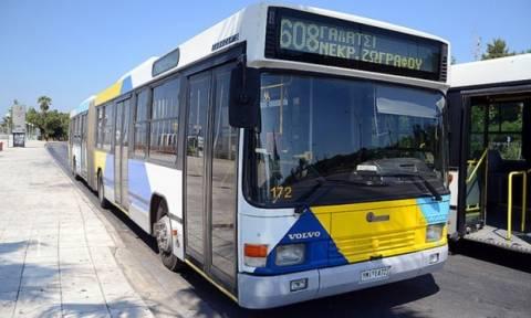 Ζωγράφου: Κατέβασαν οδηγούς λεωφορείων και «ξήλωσαν» τα ακυρωτικά μηχανήματα