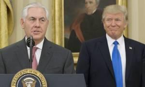 ΗΠΑ: O Ρεξ Τίλερσον είναι και επίσημα… ο νέος υπουργός Εξωτερικών της κυβέρνησης Τραμπ