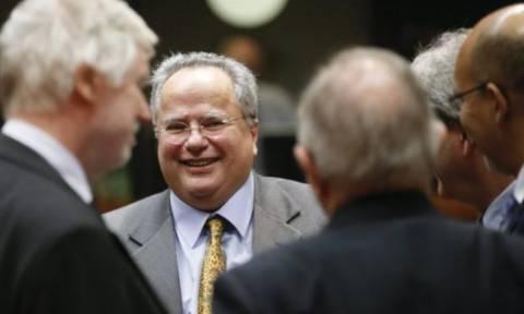 Στις Βρυξέλλες τη Δευτέρα ο Κοτζιάς στο Συμβούλιο Εξωτερικών Υποθέσεων