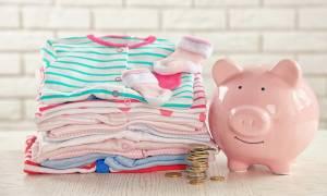 4+1 τρόποι εξοικονόμησης χρημάτων για νέους γονείς