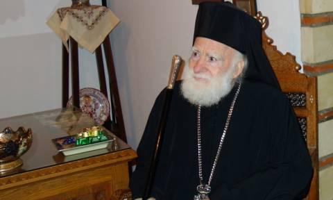 Λιποθύμησε ο Αρχιεπίσκοπος Κρήτης – Αγωνία για την υγεία του