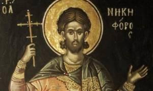 Άγιος Νικηφόρος: Αποκεφαλίσθηκε και αξιώθηκε το στέφανο του μαρτυρίου