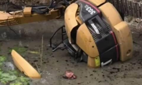 Απίστευτο: Έπεσε σε φράγμα και σώθηκε κάνοντας… γιόγκα! (pics+vid)