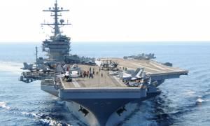 Tι έκανε τo Αμερικάνικο πολεμικό πλοίο USS «George H.W. Bush» στη Σούδα;