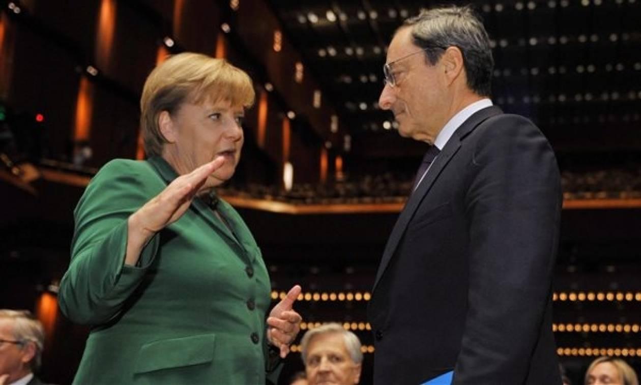 Συνάντηση Μέρκελ - Ντράγκι με την Ελλάδα στην «ατζέντα»