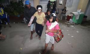 Σεισμός Φιλιππίνες: Σκηνές χάους - Δεκάδες νεκροί και τραυματίες από τα 6,5 Ρίχτερ