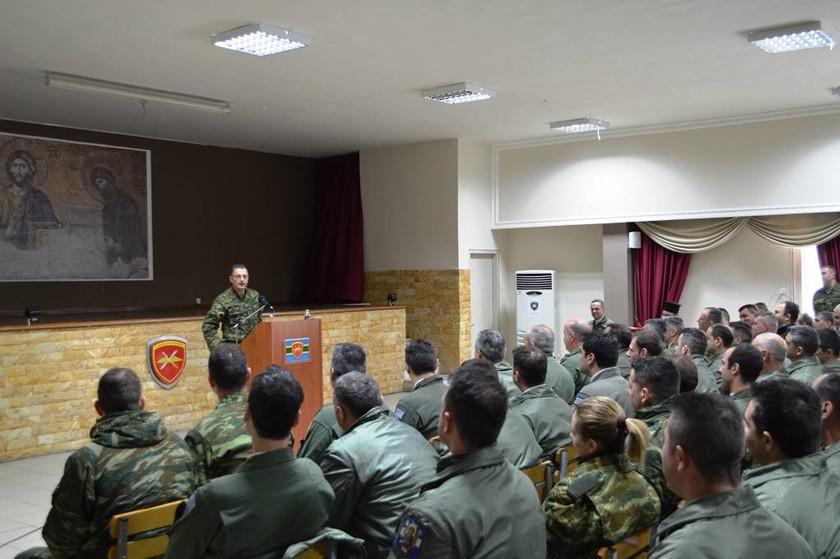 Ο νέος Α/ΓΕΣ συστήνεται... στις μονάδες του στρατού (pics)
