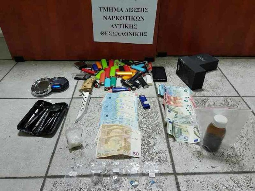 Θεσσαλονίκη: Δεν μπορείτε να φανταστείτε πού έκρυβε τα ναρκωτικά (pic)