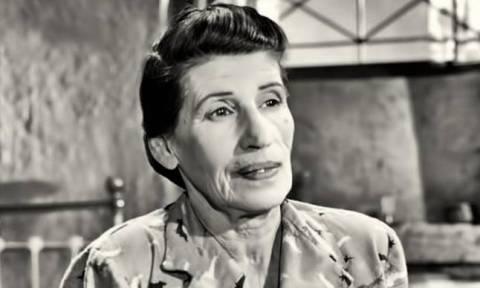Σαν σήμερα το 1980 πέθανε η ηθοποιός Γεωργία Βασιλειάδου (vid)