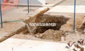 Βόμβα Κορδελιό: Στο πόδι η τοπική αυτοδιοίκηση από το πρωί της Κυριακής (12/2) (video)