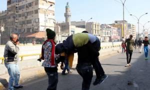 Μακελειό σε διαδήλωση στη Βαγδάτη: Η αστυνομία έριξε ρουκέτες κατά διαδηλωτών (Pics+Vid)