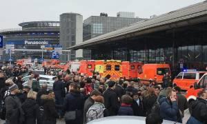 Γερμανία: Σκόπιμη η διαρροή αερίου στο αεροδρόμιο του Αμβούργου (pics)