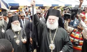 Στο Ναό του Ευαγγελισμού της Θεοτόκου στο Κονγκό τέλεσε την Λειτουργία ο Πατριάρχης Αλεξανδρείας