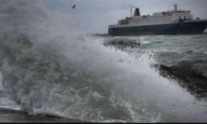 Καιρός: Προβλήματα σε ακτοπλοϊκά δρομολόγια λόγω ισχυρών ανέμων
