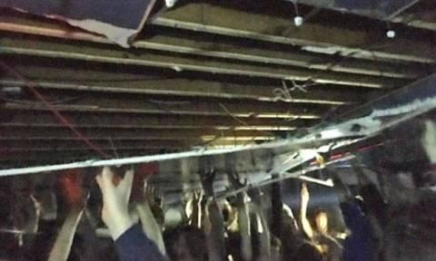 Πανικός σε κλαμπ στο Μάντσεστερ: Κατέρρευσε η οροφή - Την κράτησαν οι θαμώνες με τα χέρια τους (vid)