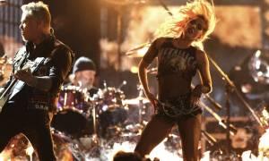Grammy: Η πολυσυζητημένη εμφάνιση Metallica - Lady Gaga! «Χτύπησε» τατουάζ προς τιμήν τους (video)
