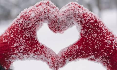 Ο καιρός του… Αγίου Βαλεντίνου: Με χιονόνερο και πολικές θερμοκρασίες η γιορτή των ερωτευμένων