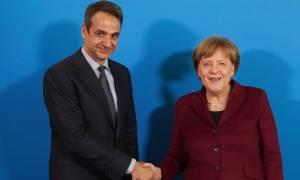 В Берлине состоялась встреча Ангелы Меркель и Кириакоса Мицотакиса