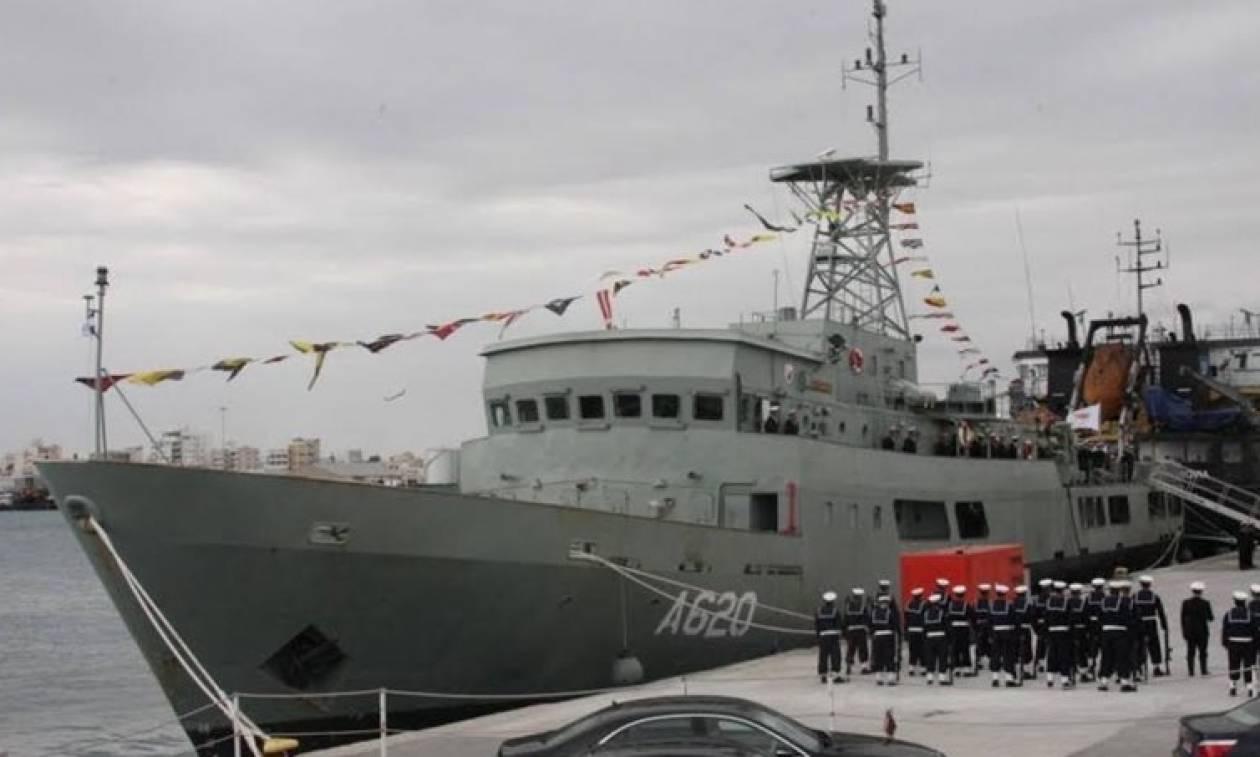 Το Ομάν δώρισε πλοίο στο Πολεμικό Ναυτικό της Κύπρου