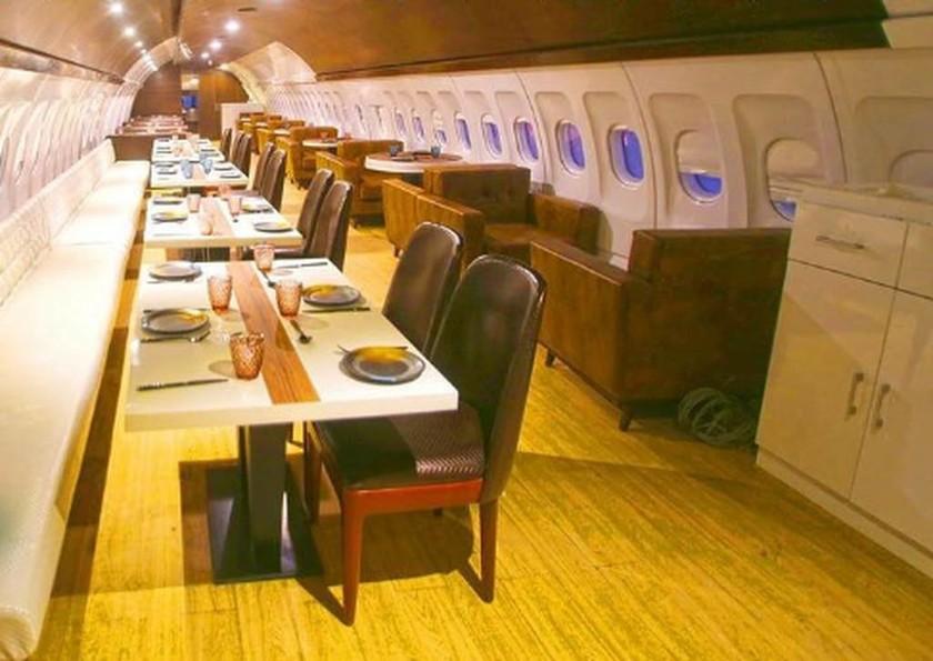 Μοναδικό: Ινδός επιχειρηματίας μετέτρεψε Airbus A320 σε πολυτελές ρεστοράν! (pics+vid)