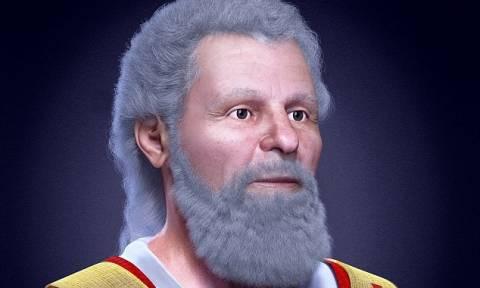Αυτό είναι το πρόσωπο του Αγίου Βαλεντίνου (pics+vid)