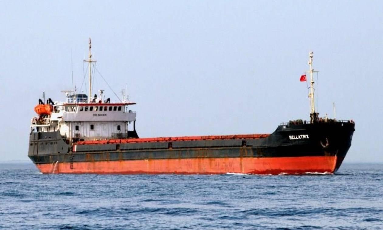 Θρίλερ με φορτηγό πλοίο ανοιχτά της Μυτιλήνης